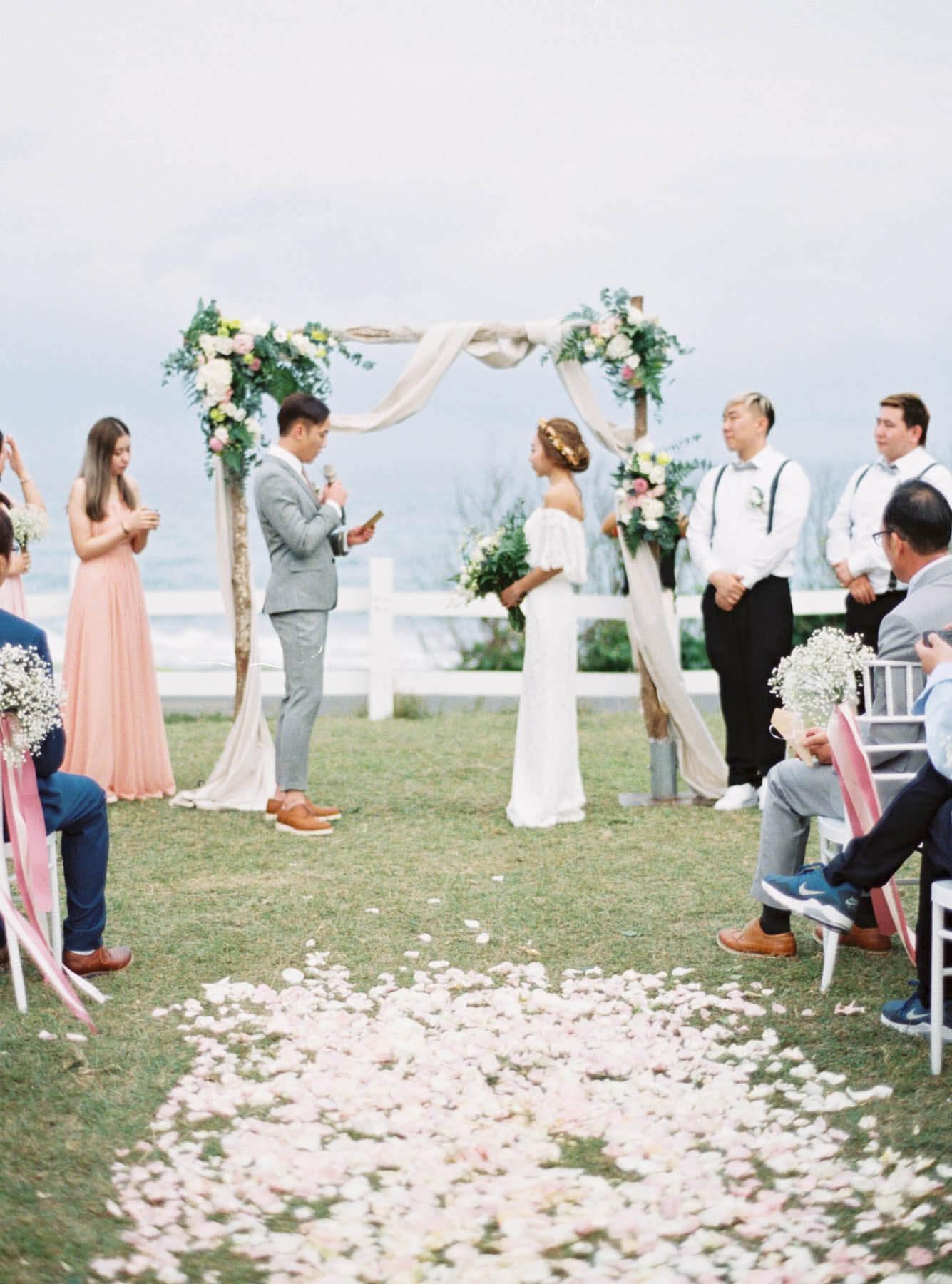 日日旅海民宿 戶外婚禮