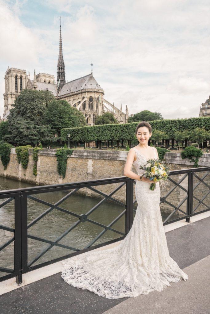 聖母院婚紗