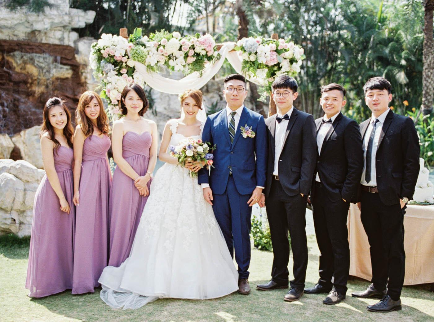 桂田酒店美式婚禮
