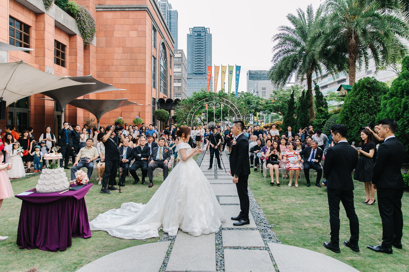 台北維多麗亞酒店婚禮