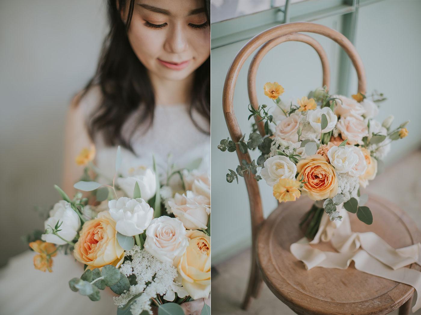 淡江大學婚紗-STAGE-美式婚紗-Alen Tsai-True Lace婚紗-新秘造型師Gina