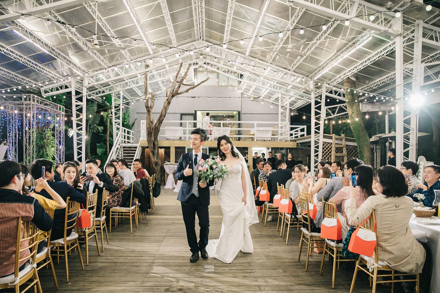 陽明山納美花園婚禮