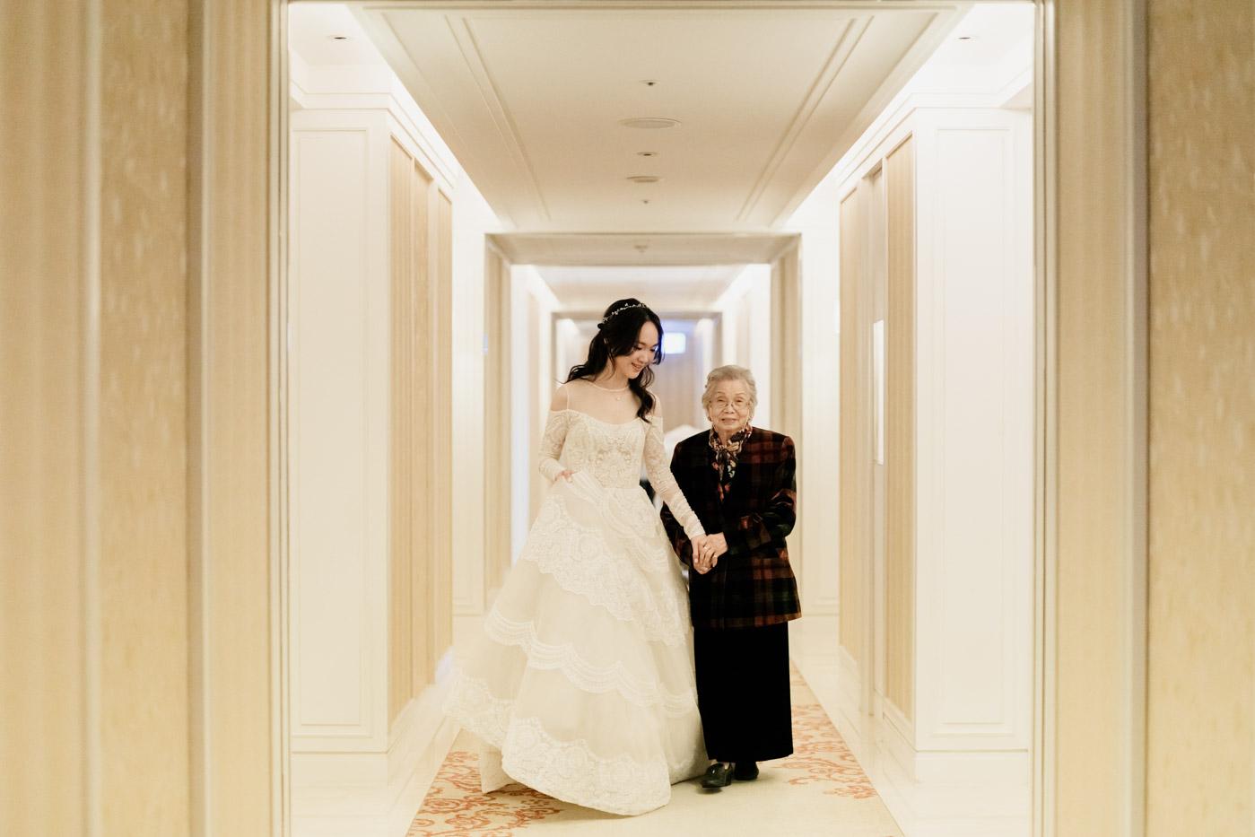台北大倉久和飯店婚禮-女攝影師