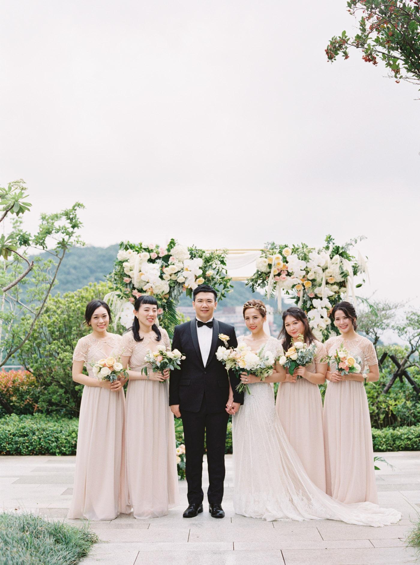 萬麗酒店戶外婚禮