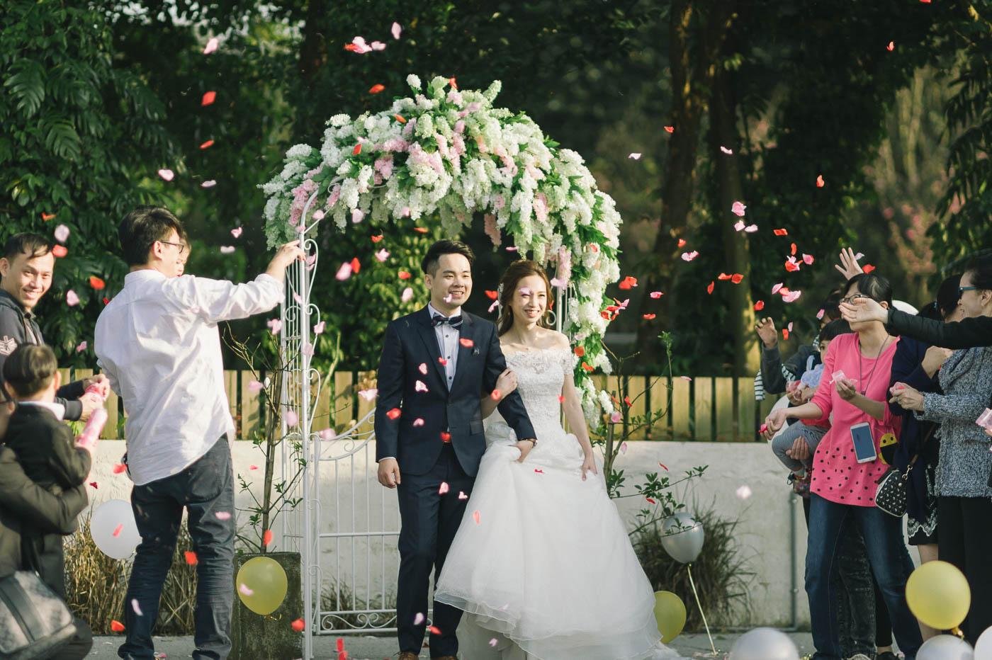 戶外婚禮場地-美軍俱樂部婚禮-stage