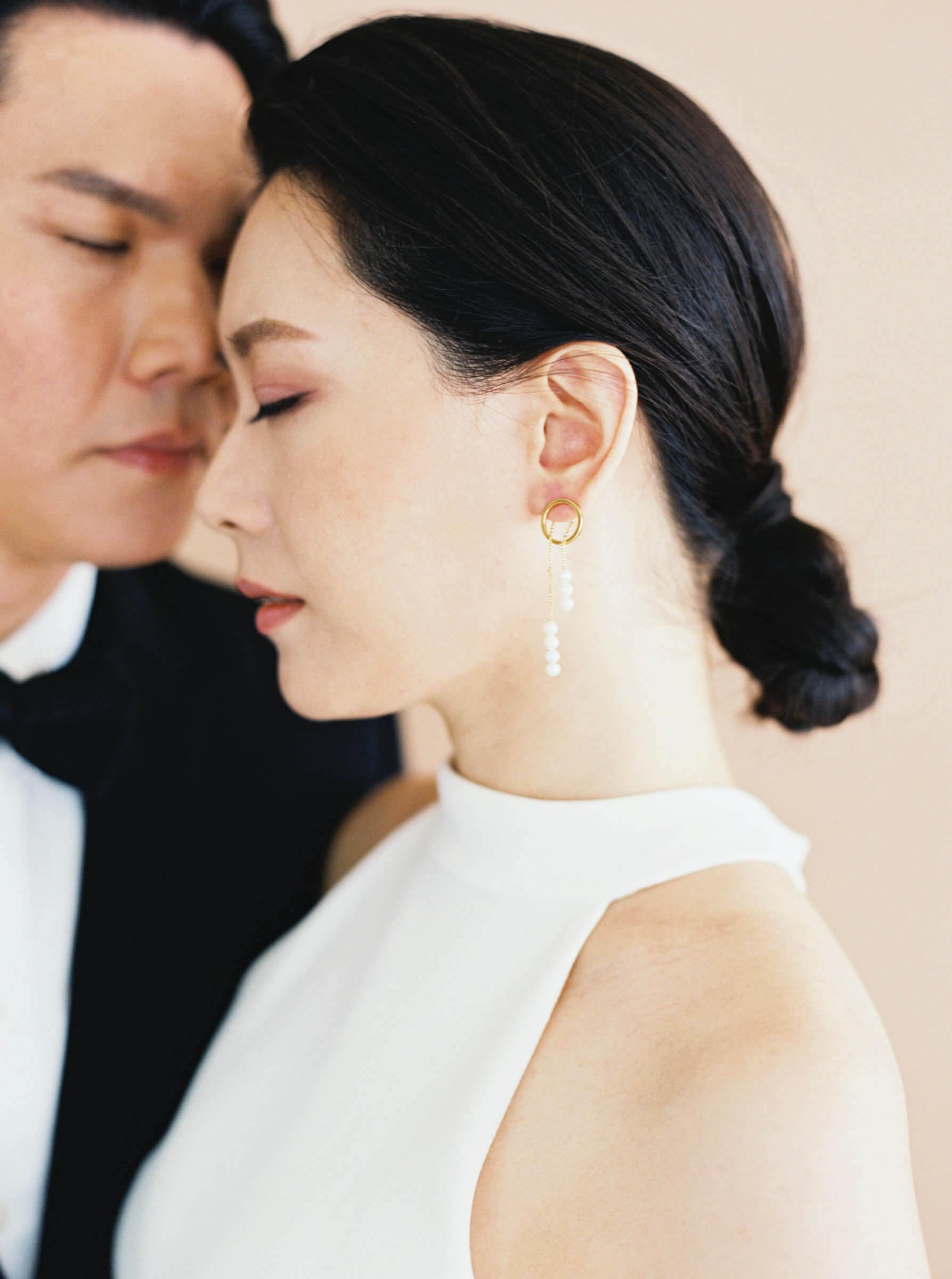 極簡與裸色調 的婚禮創作