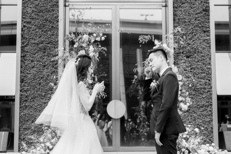 萬豪酒店婚禮 Stephen & Victoria