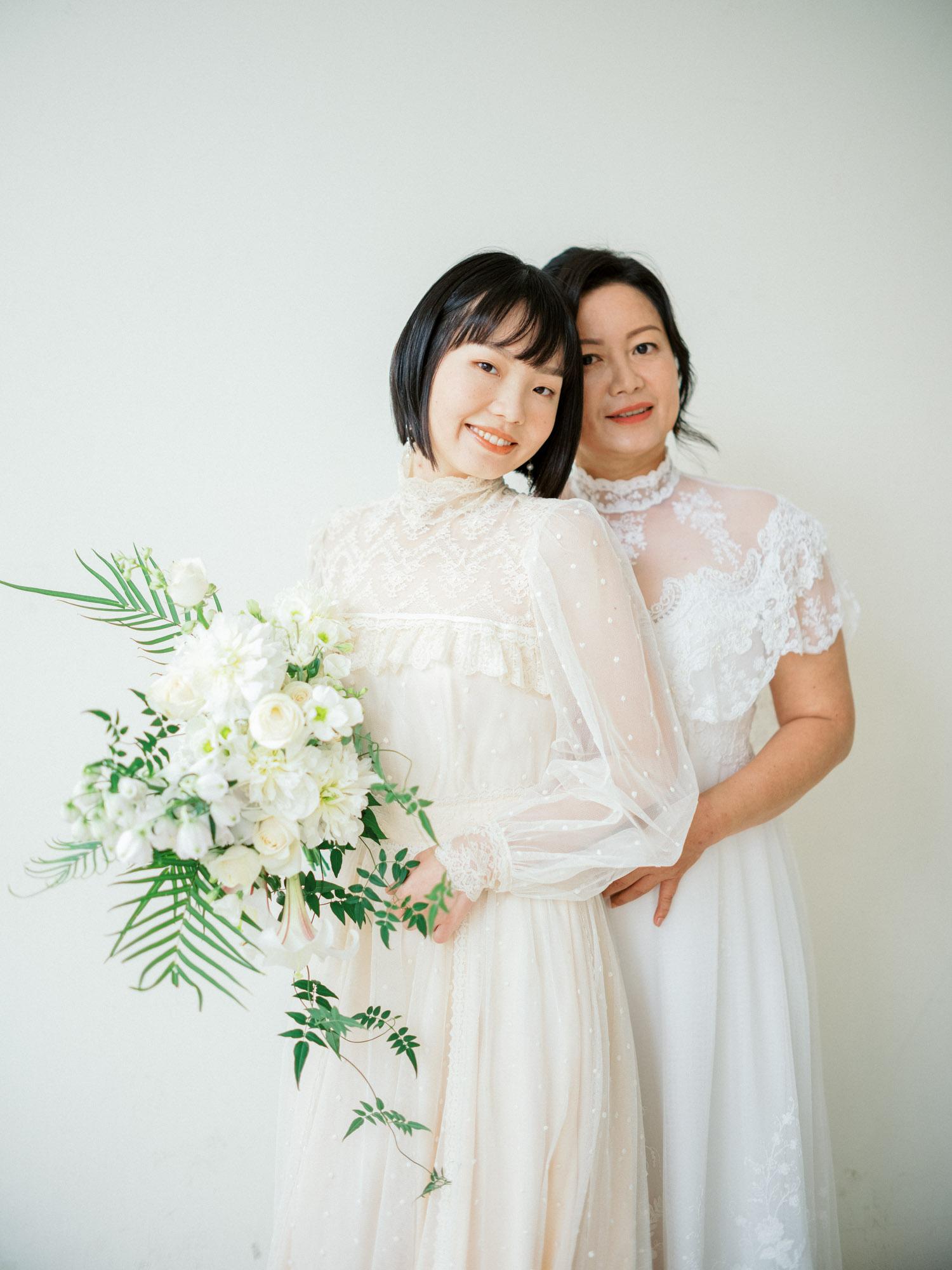閨蜜寫真-母親節寫真-STAGE-mark-古董禮服