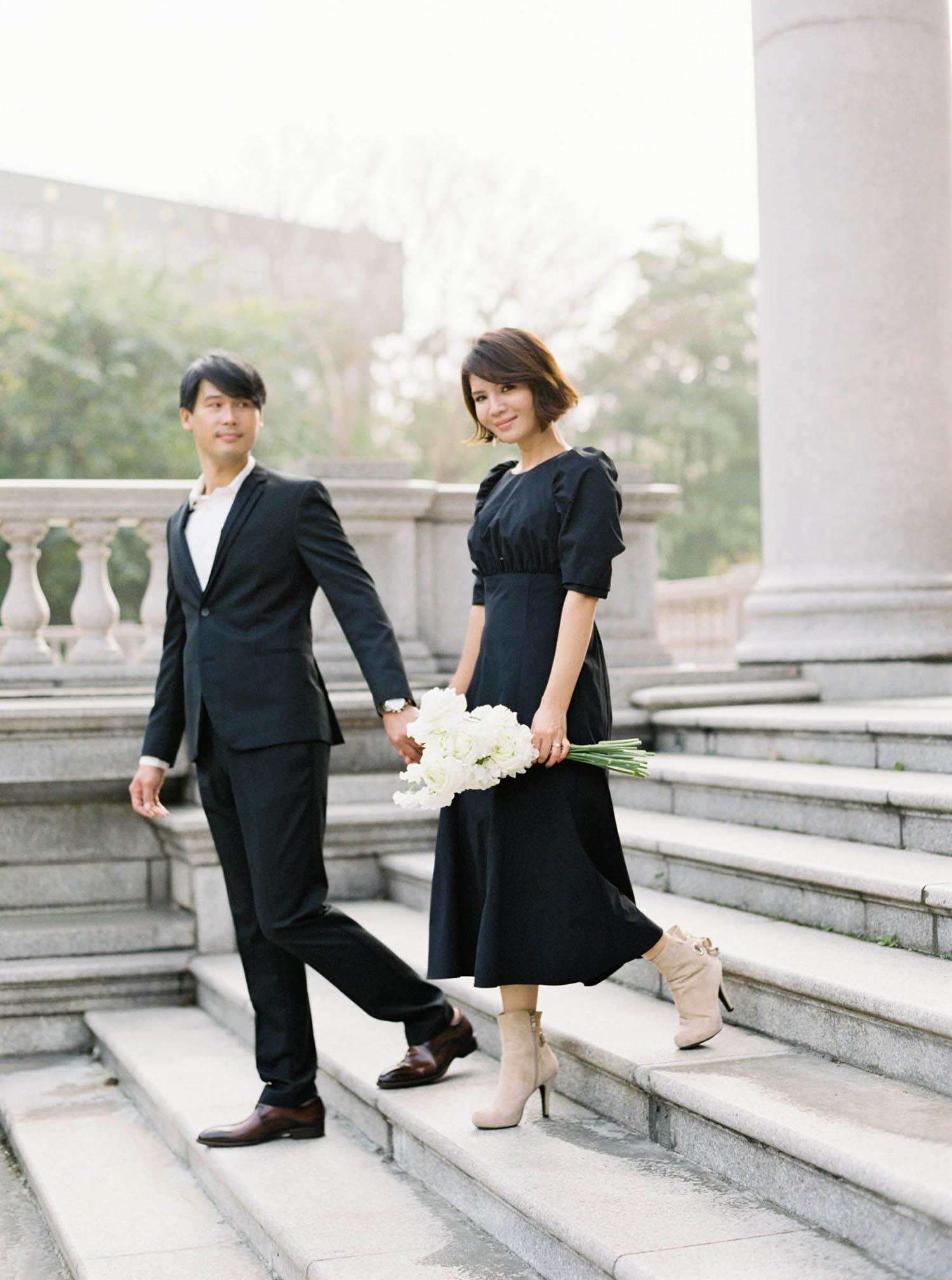週年紀念-婚紗-城市風格-吉兒梁婚禮-大同大學